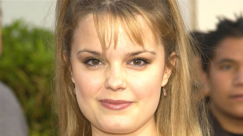 Kimberly J Brown smiling at event