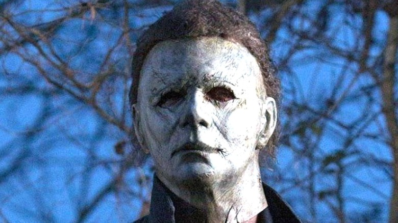 Michael Myers in closeup