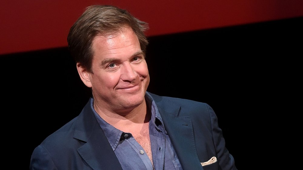 Michael Weatherly during a press event for Bull