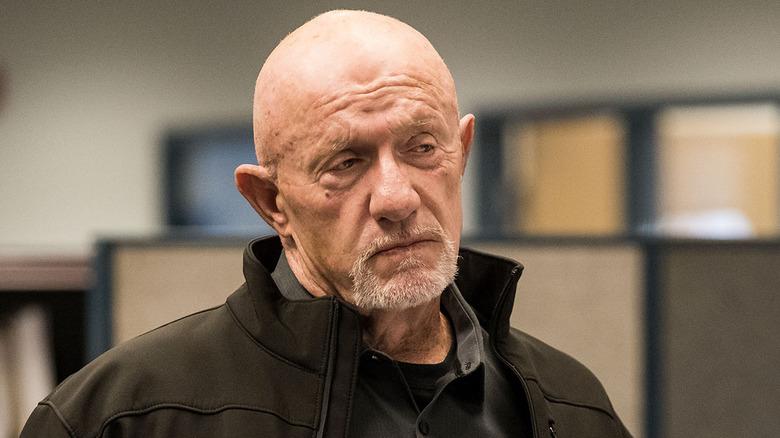 Jonathan Banks as Mike Ehrmantraut on Better Call Saul