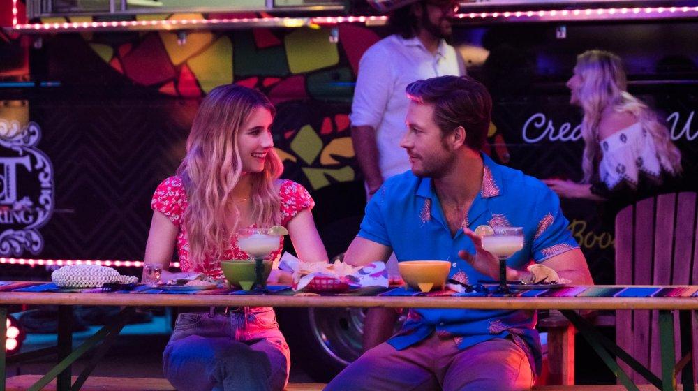 Emma Roberts and Luke Bracey in Holidate
