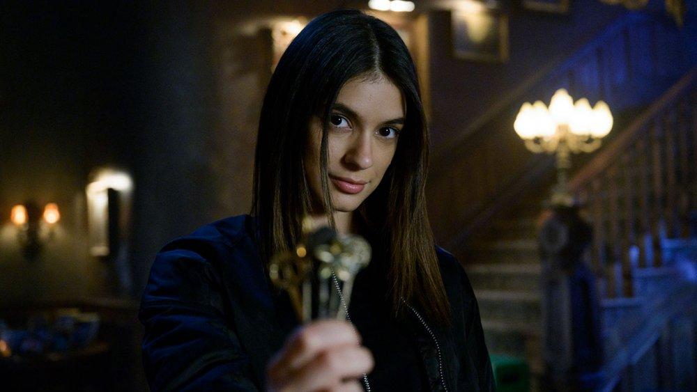 Laysla De Oliveira as Dodge on Netflix's Locke & Key