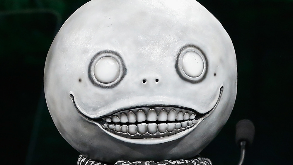 Yoko Taro in mask