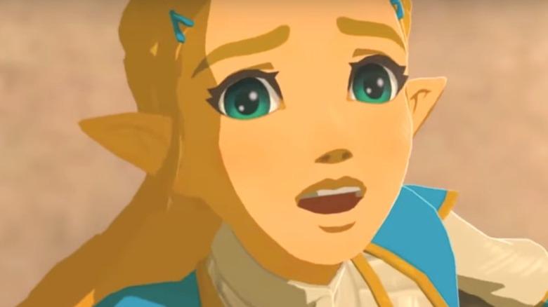 Zelda panicked
