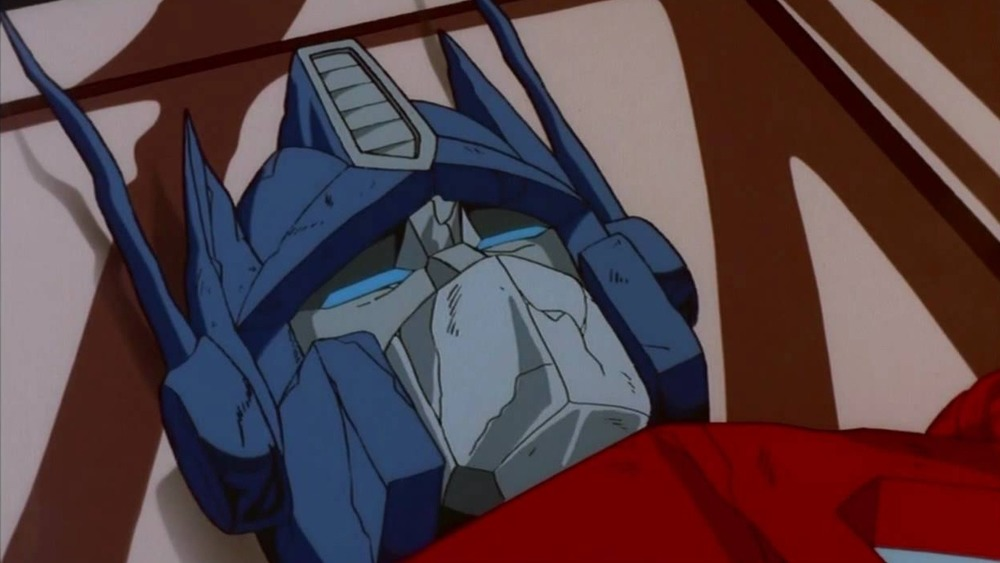 A dying Optimus Prime