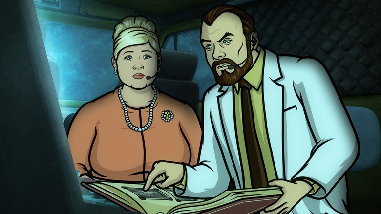 Pam Poovey and Dr. Krieger
