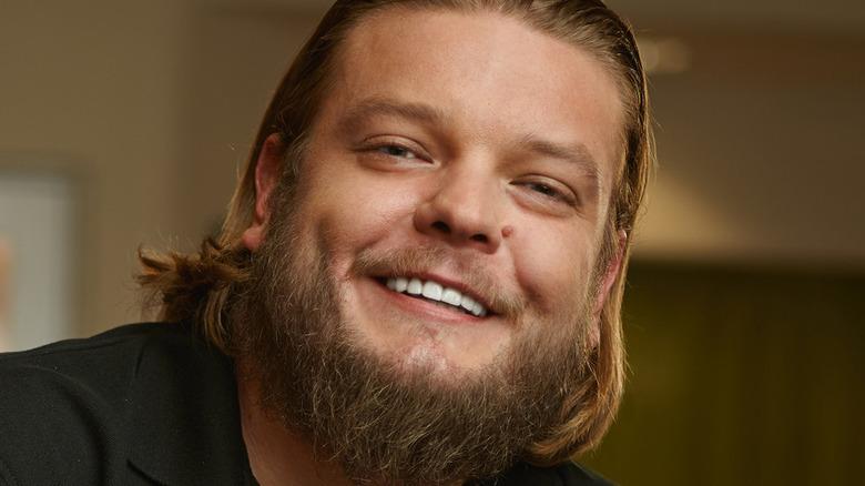 Pawn Stars' Corey Harrison smiling