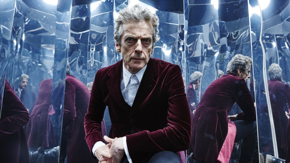 Peter Capaldi as the Twelfth Doctor in Doctor Who