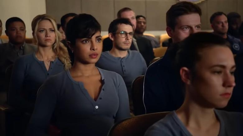 Alex's (Priyanka Chopra) first day on Quantico