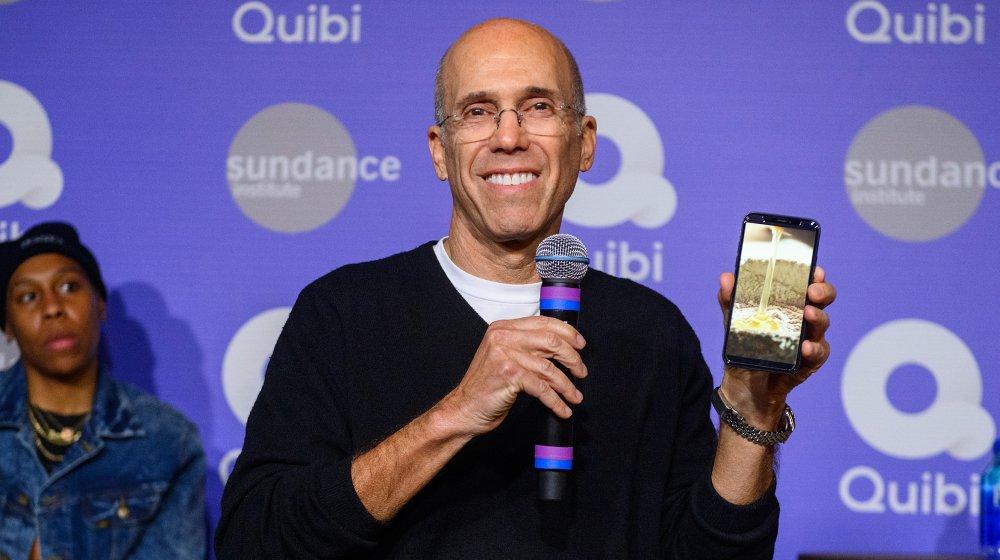 Jeffrey Katzenberg, co-founder of Quibi
