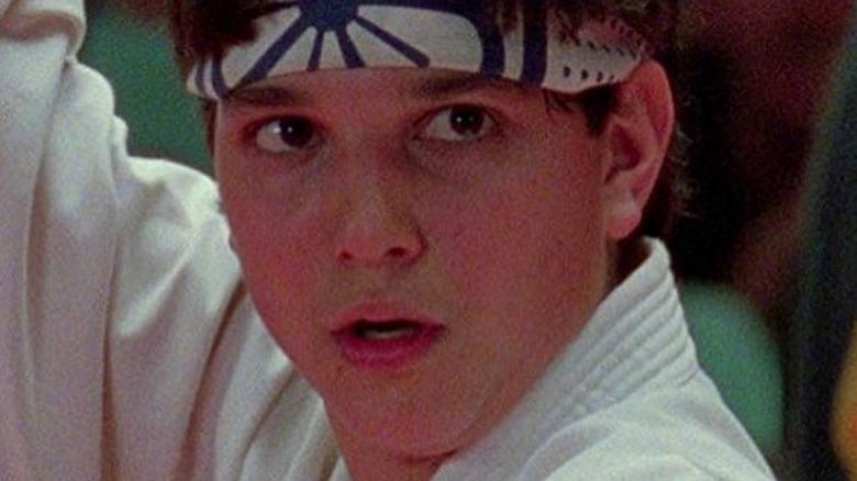 Daniel LaRusso ready to fight