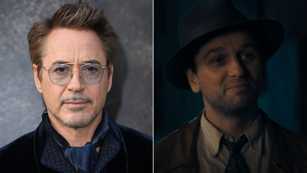 Robert Downey Jr., Matthew Rhys as Perry Mason