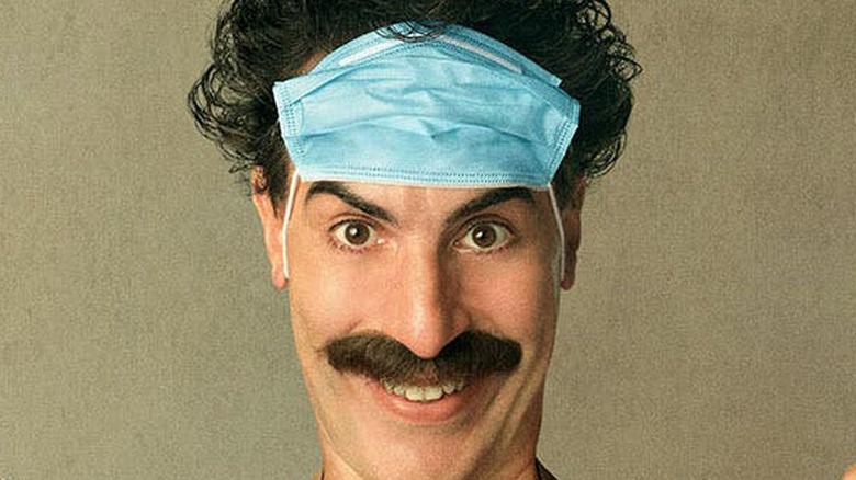 Borat 2 poster facemask