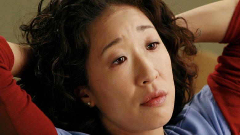 Sandra Oh Cristina Yang red sleeves