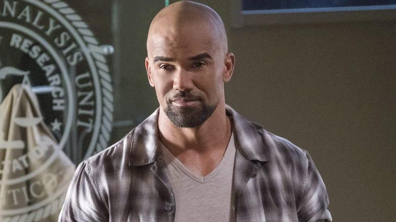 Shemar Moore as Derek Morgan on Criminal Minds