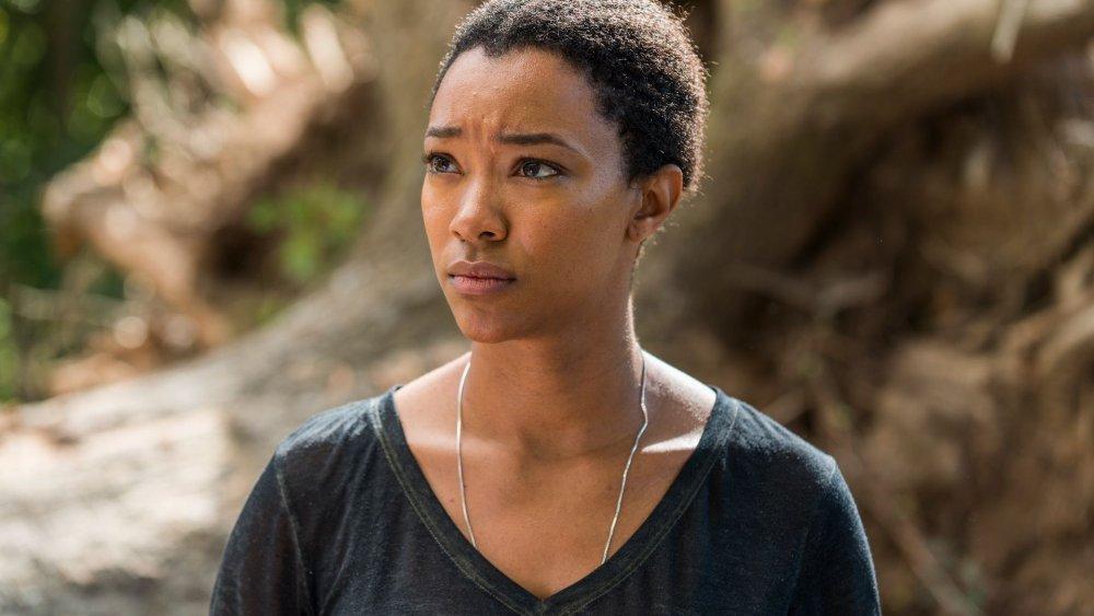 Sonequa Martin-Green as Sasha Williams on The Walking Dead