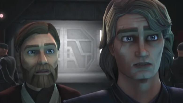 Obi-Wan Kenobi and Anakin Skywalker from The Clone Wars