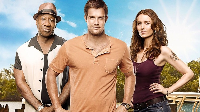 The cast of The Finder