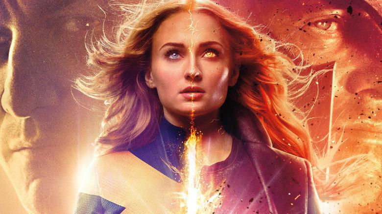 Sophie Turner as Jean Grey in Dark Phoenix poster