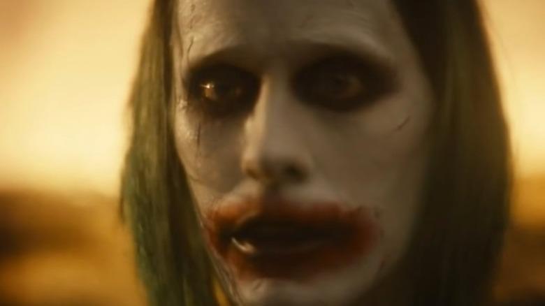 Joker looking sad