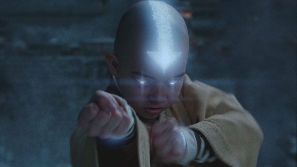 Noah Ringer as Aang in Avatar: The Last Airbender