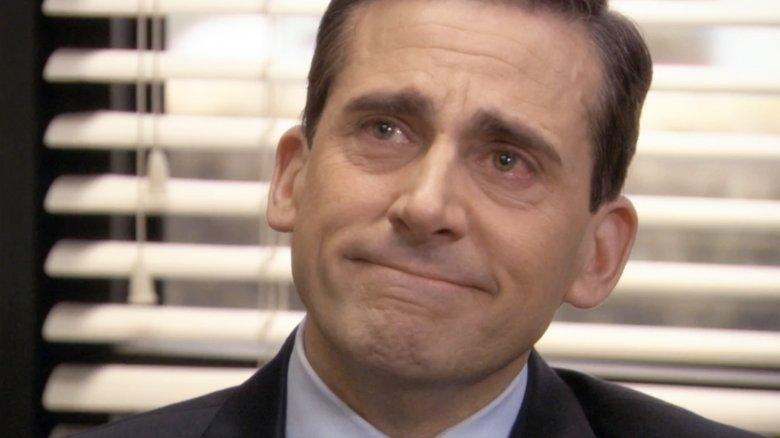 Steve Carell Michael Scott crying The Office