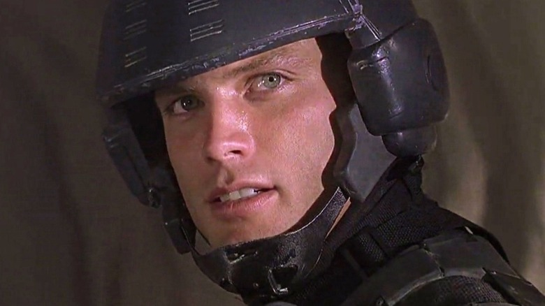 Casper Van Dien Johnny Rico helmet