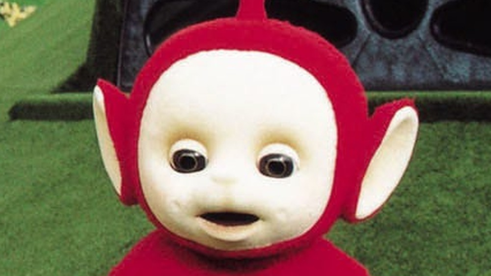 The baby sun from Teletubbies