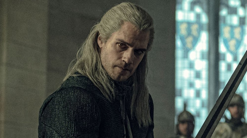 Henry Cavill as Geralt of Rivia on The Witcher
