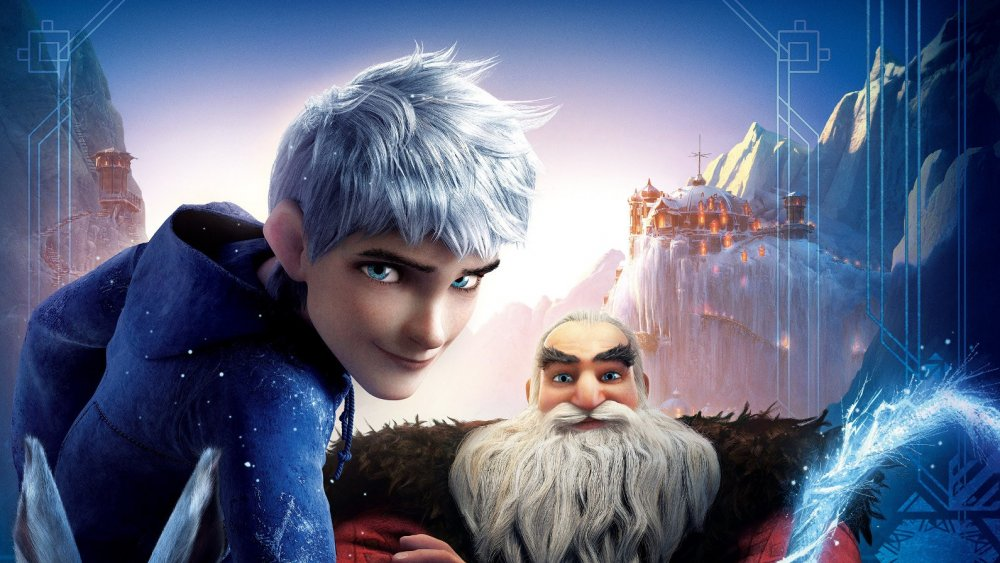 The poster for Rise of the Guardians