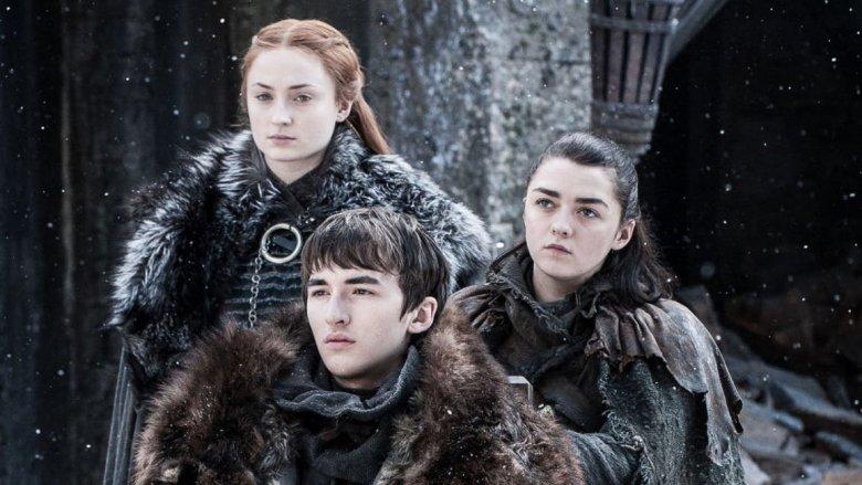 The Stark kids