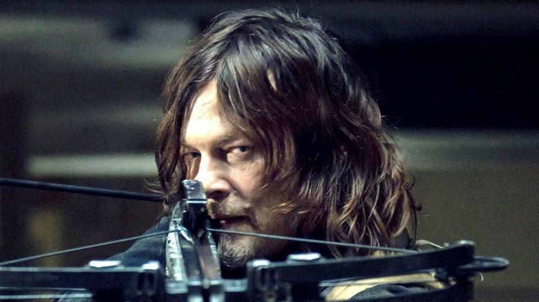 Norman Reedus Daryl Dixon crossbow
