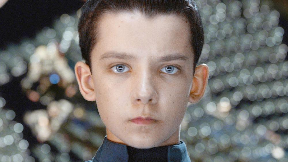 Ender Wiggin staring