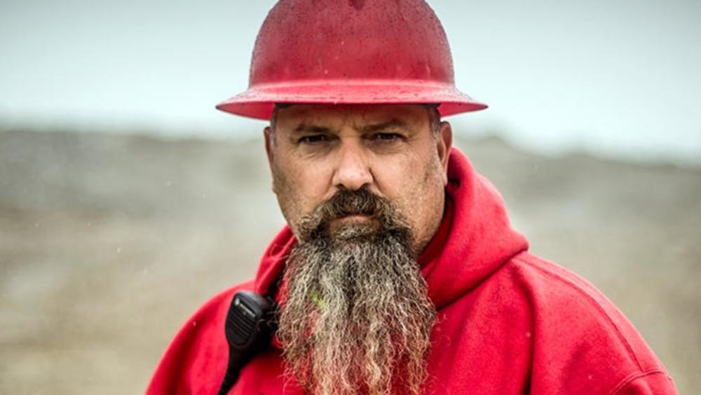 Todd Hoffman wearing red hardhat