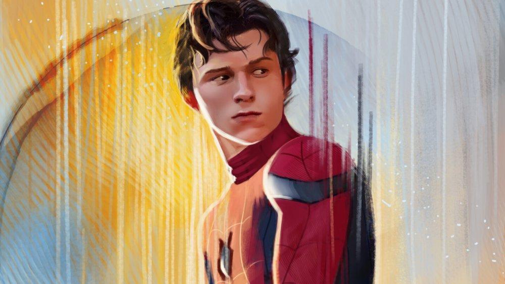 Tom Holland Spider-Man fan art