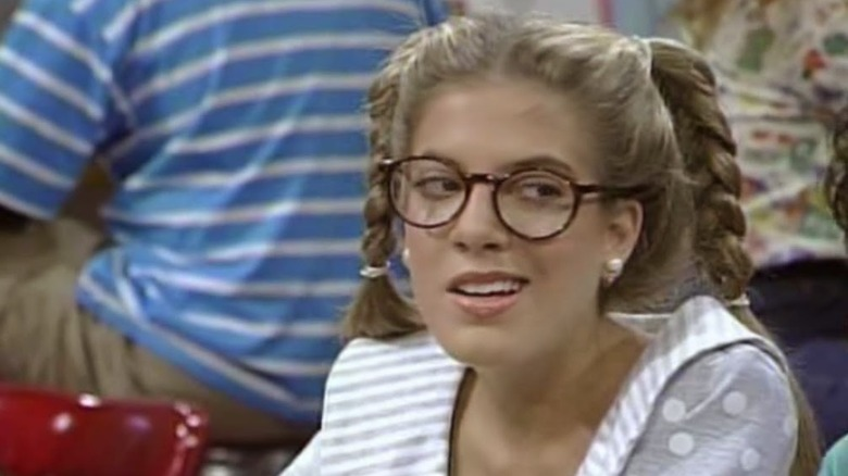 Tori Spelling as Violet on Saved by the Bell