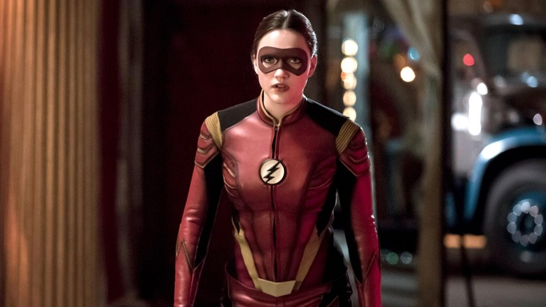 Violett Beane as Jesse Quick on The Flash