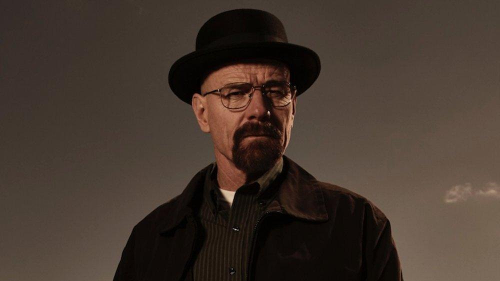 Bryan Cranston as Walter White in his Heisenberg persona