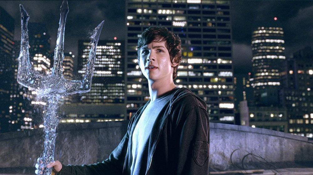 Logan Lerman as Percy Jackson in Percy Jackson & the Olympians: The Lightning Thief