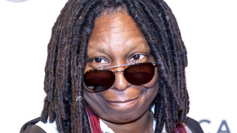 Whoopi Goldberg smiling