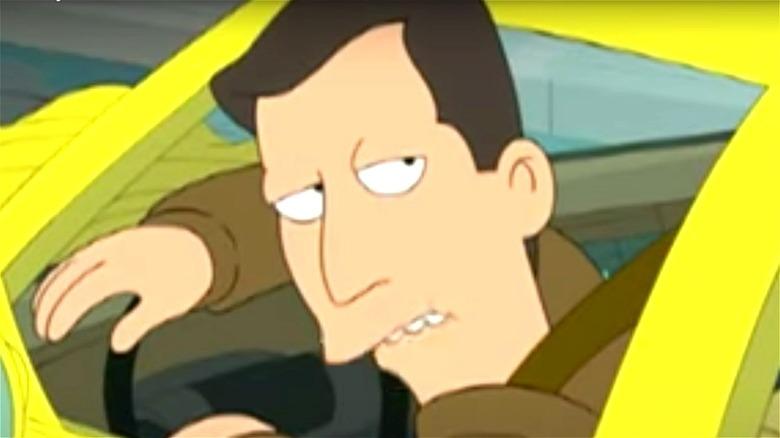 Futurama Al Gore Taxi Driver