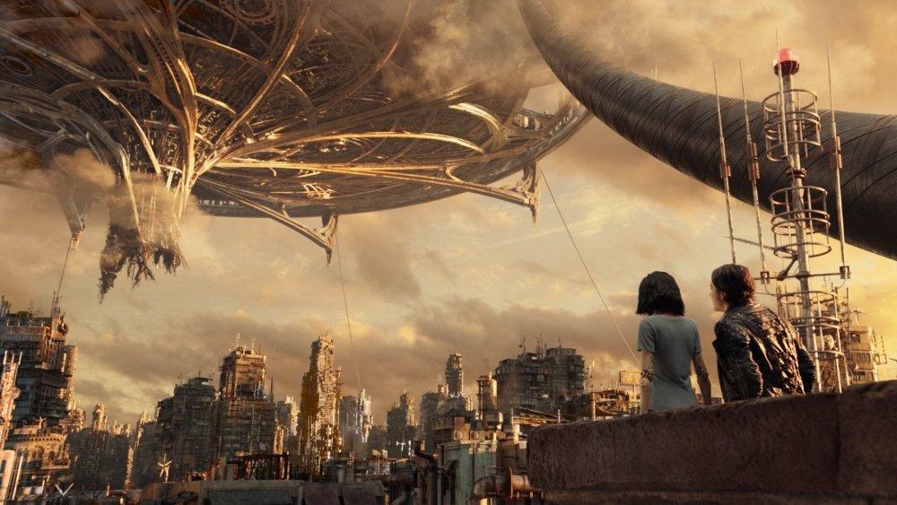 Iron City and Zalem in Alita: Battle Angel