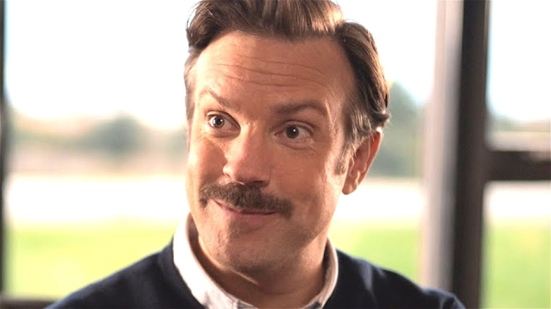 Ted Lasso smiling