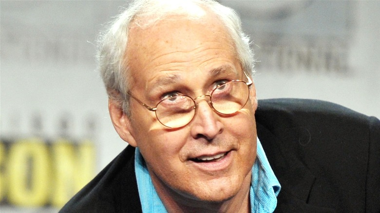 Chevy Chase at Comic-Con