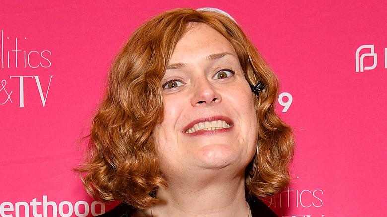 Lilly Wachowski smiling