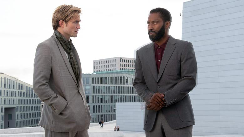 Robert Pattinson and John David Washington in Tenet