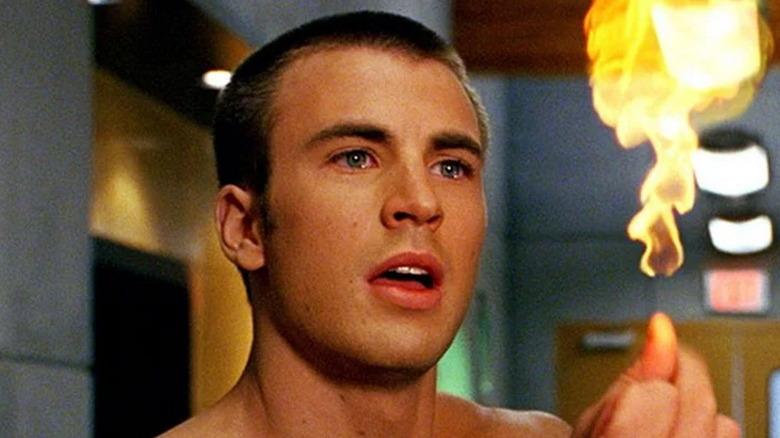 Chris Evans as Johnny Storm