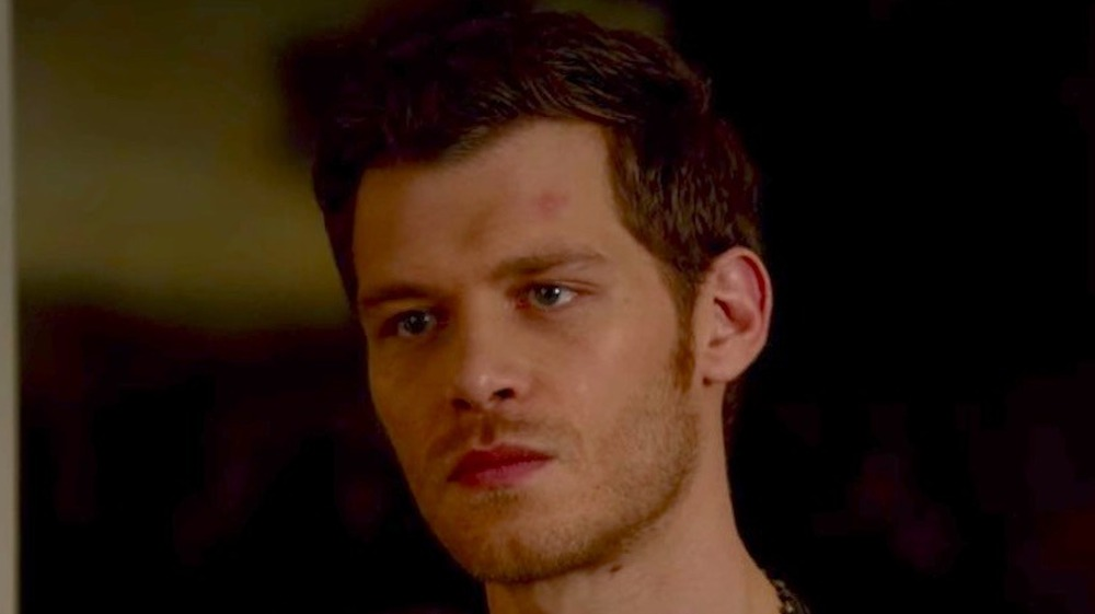 Klaus scowling in The Originals