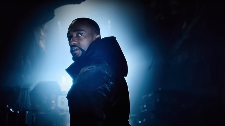 Anthony Mackie as Tak in Altered Carbon