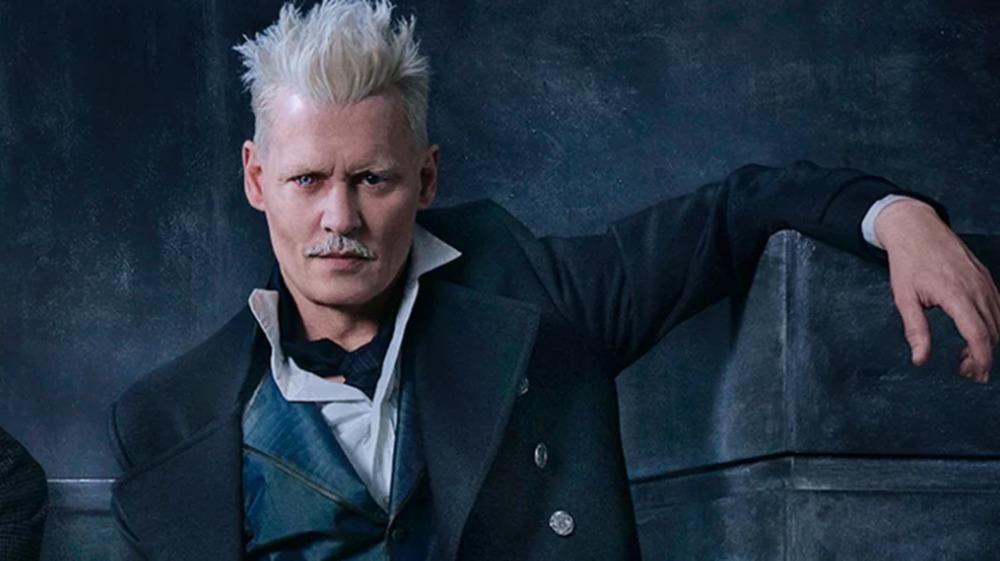 Johnny Depp as Gellert Grindelwald in Fantastic Beasts: Crimes of Grindelwald